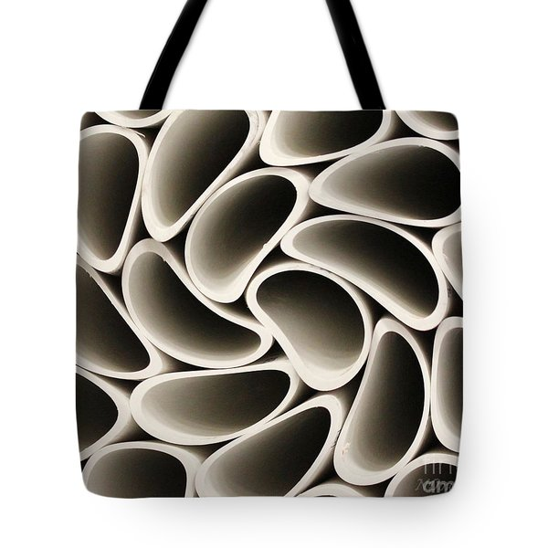 Pvc Pipe Twirl Tote Bag