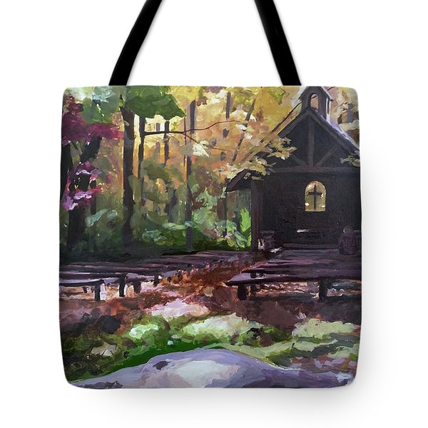 Pvm Outdoor Chapel Tote Bag