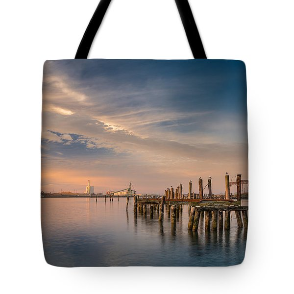 Pylon Tranquility Tote Bag by Greg Nyquist