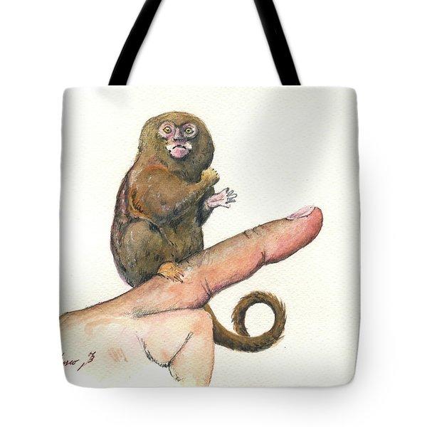 Pympy Marmoset Tote Bag