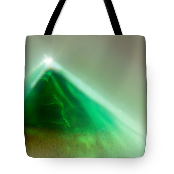 Tote Bag featuring the photograph Pyramid by Greg Collins