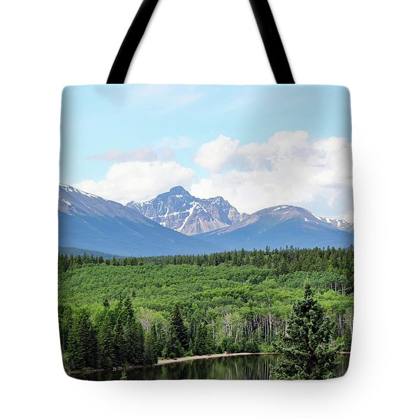 Pyramid Island - Jasper Ab. Tote Bag by Ryan Crouse