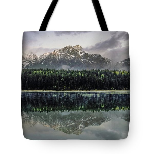 Pyramid Mountain 2006 02 Tote Bag