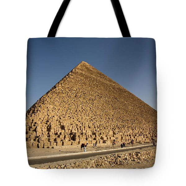 Pyramid Of Cheops Tote Bag