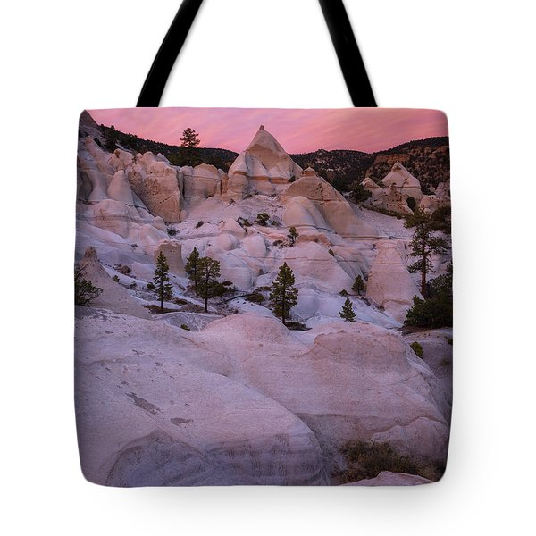 Pyramids  Tote Bag by Dustin LeFevre