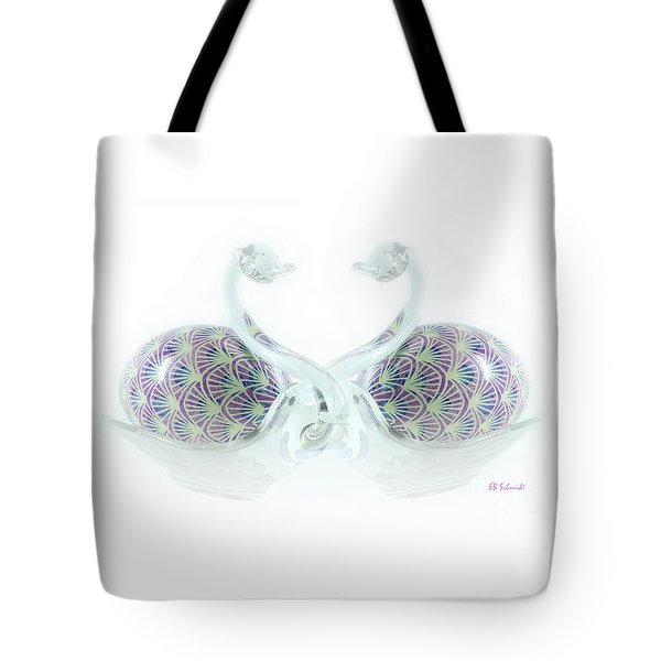 Pysanky Love Birds Tote Bag