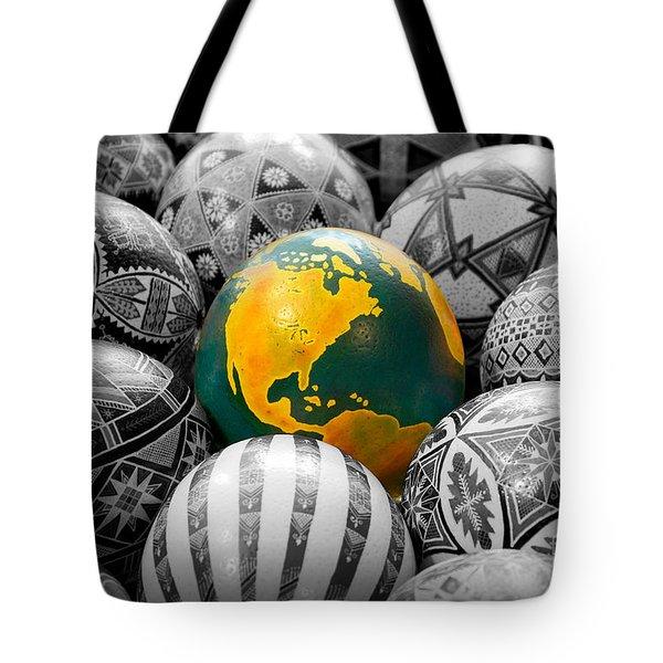 Pysanky World Tote Bag