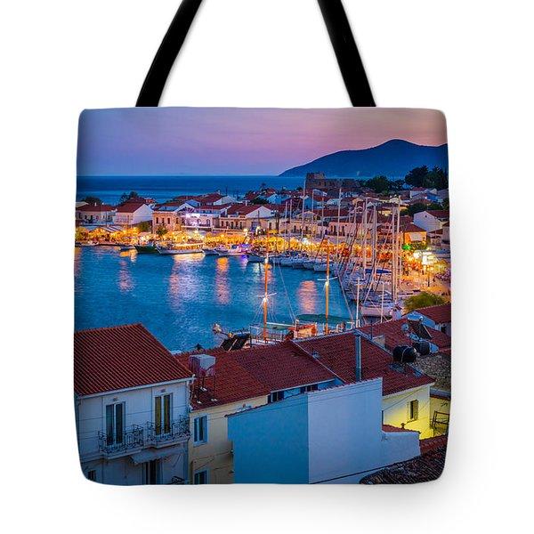 Pythagoreio Evening Tote Bag