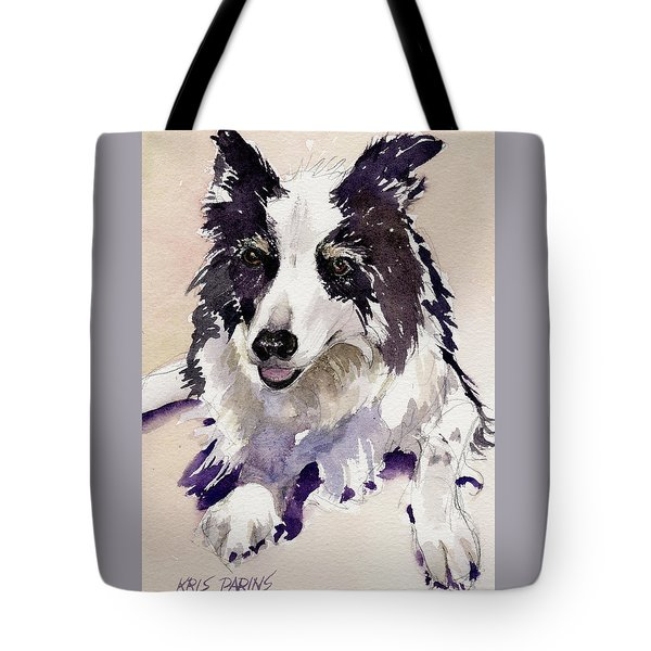 Tote Bag featuring the painting Jack by Kris Parins