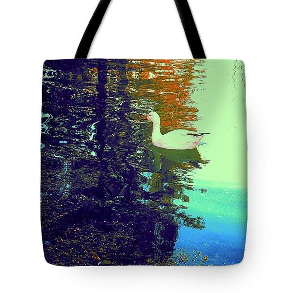 Quack Tote Bag by Nancy Kane Chapman