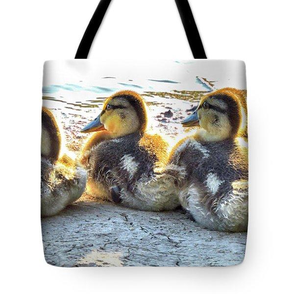 Quacklings Tote Bag