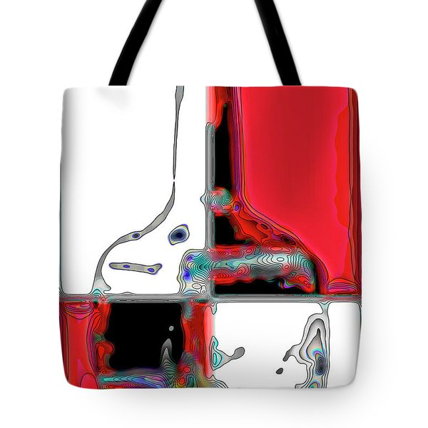 Tote Bag featuring the photograph Quad Bottle by Walt Foegelle