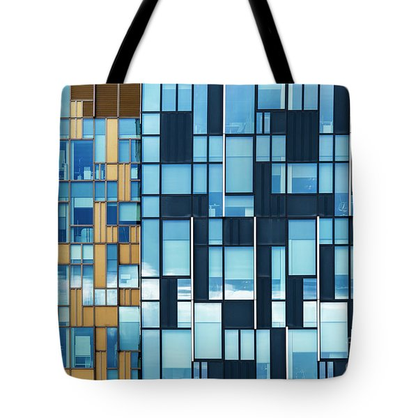 Quadrilateral Colour Tote Bag