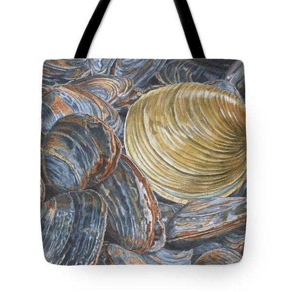 Quahog On Clams Tote Bag