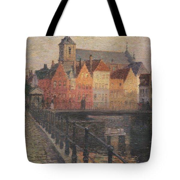 Quai De La Paille Tote Bag by Paul Albert Steck