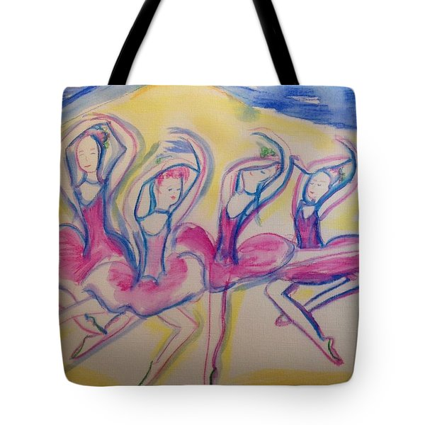 Quaint Quadrille Tote Bag