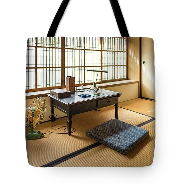 Quaint Tatami Office Tote Bag