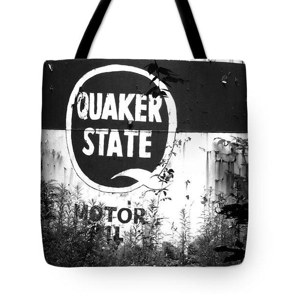 Quaker State Tote Bag