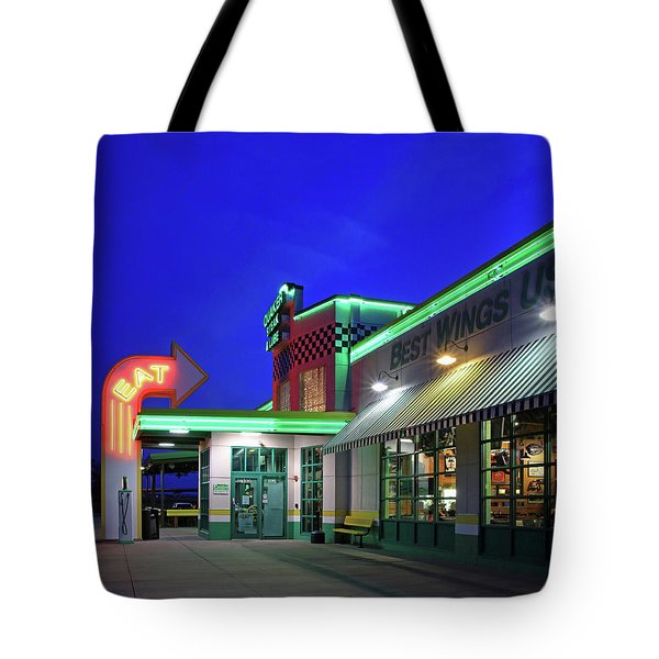 Tote Bag featuring the photograph Quaker Steak And Lube by Christopher McKenzie