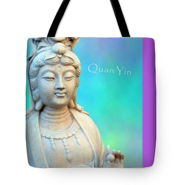 Quan Yin In Sedona Tote Bag