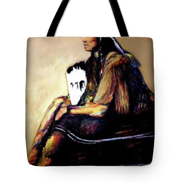 Quanah Parker The Last Comanche Chief II Tote Bag