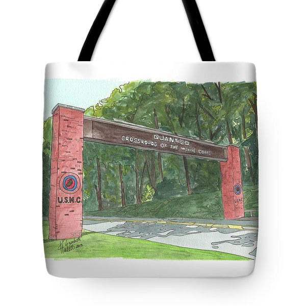 Quantico Welcome Tote Bag