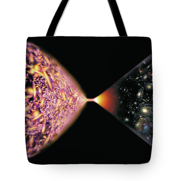 Quantum Cosmos Tote Bag