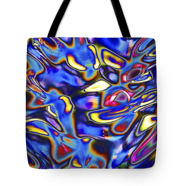 Quantum Entangled Soul... Tote Bag