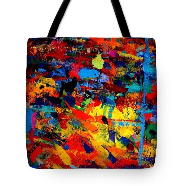 Quantum Leap Tote Bag by John  Nolan