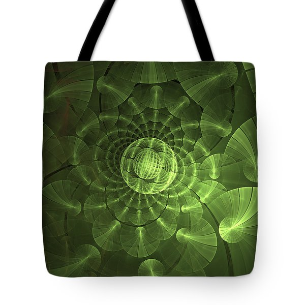Tote Bag featuring the digital art Quantum Plasma Signature by Lea Wiggins