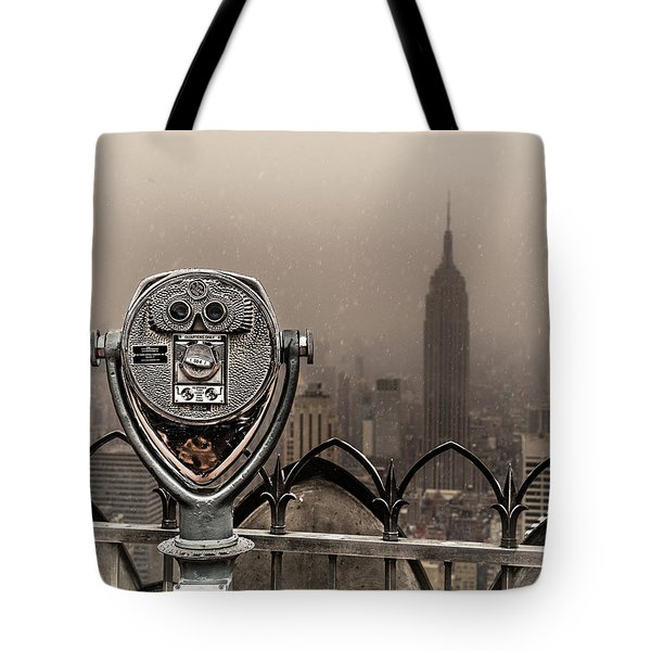 Tote Bag featuring the photograph Quarters Only by Chris Lord