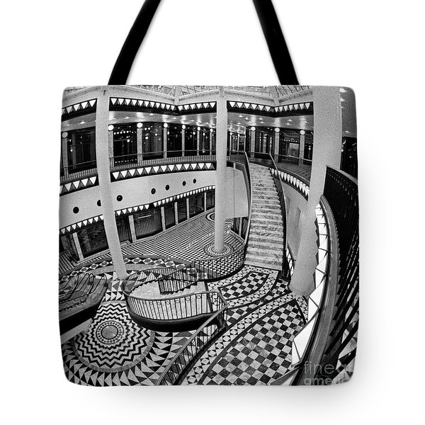 Tote Bag featuring the photograph East Berlin Analog Sound by Silva Wischeropp