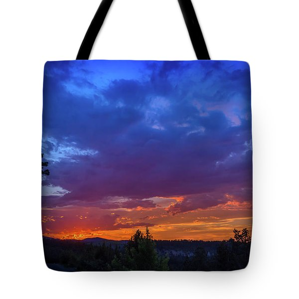 Quartz Canyon Sunset Tote Bag