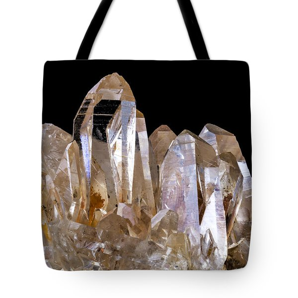Quartz Crystals Tote Bag