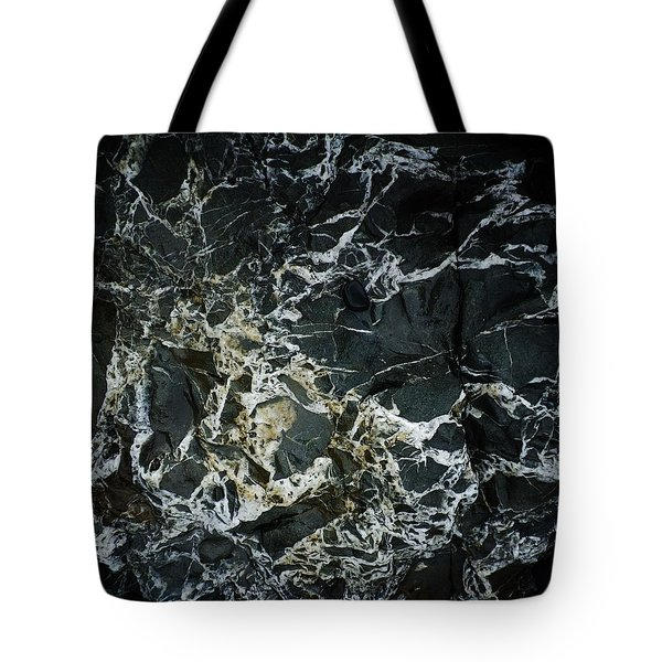 Quartz Veins Abstract 1 Tote Bag by Richard Brookes