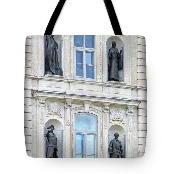 Quebec City 76 Tote Bag