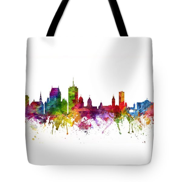 Quebec City Canada Cityscape 06 Tote Bag