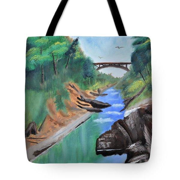 Quechee Gorge,vermont Tote Bag