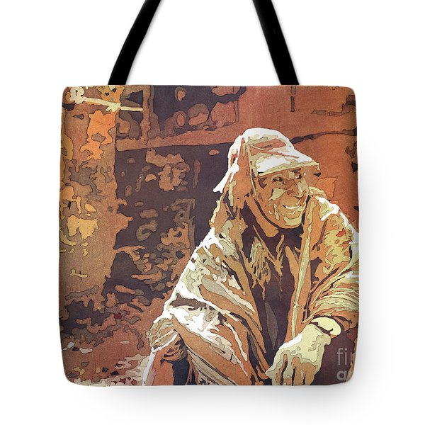 Quechua Man- Peru Tote Bag
