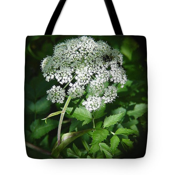Queen Ann Lace Tote Bag