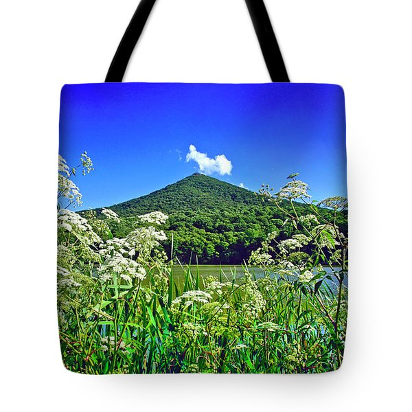 Queen Anne's Lace, Peaks Of Otter  Tote Bag