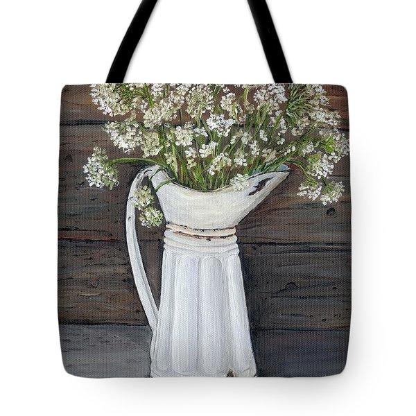 Queen Ann's Lace Tote Bag
