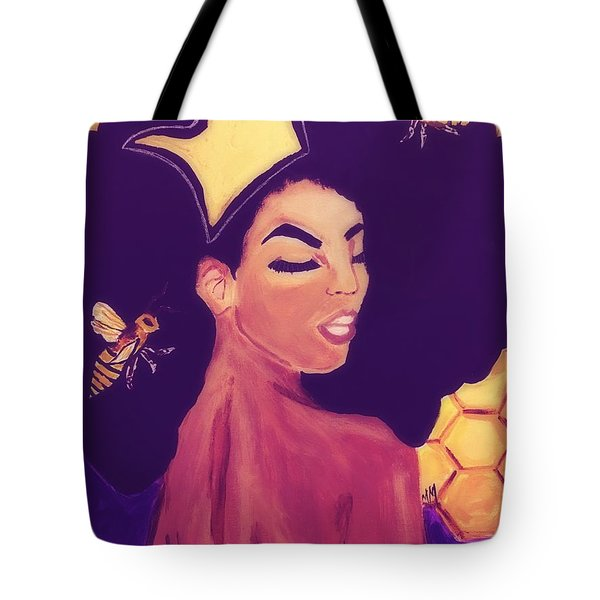 Queen Bee  Tote Bag by Miriam Moran