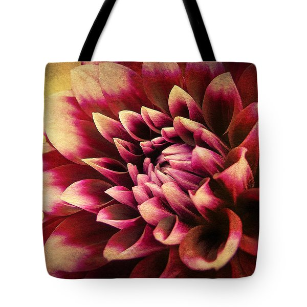 Queen Dahlia Tote Bag
