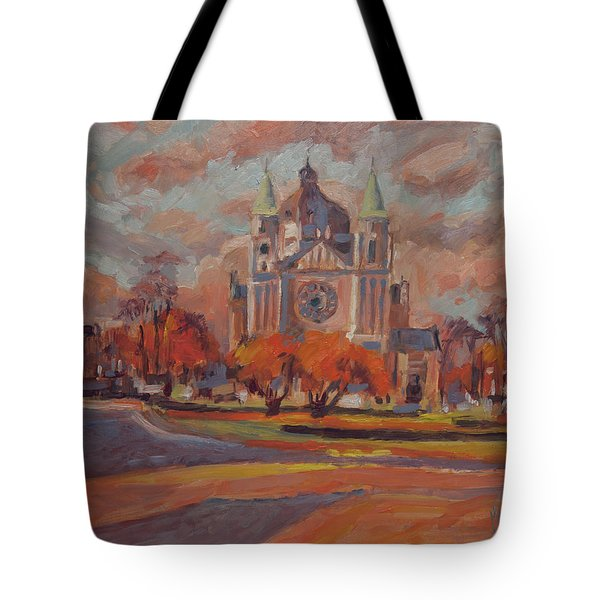 Queen Emma Square In Autumn Colours Tote Bag by Nop Briex