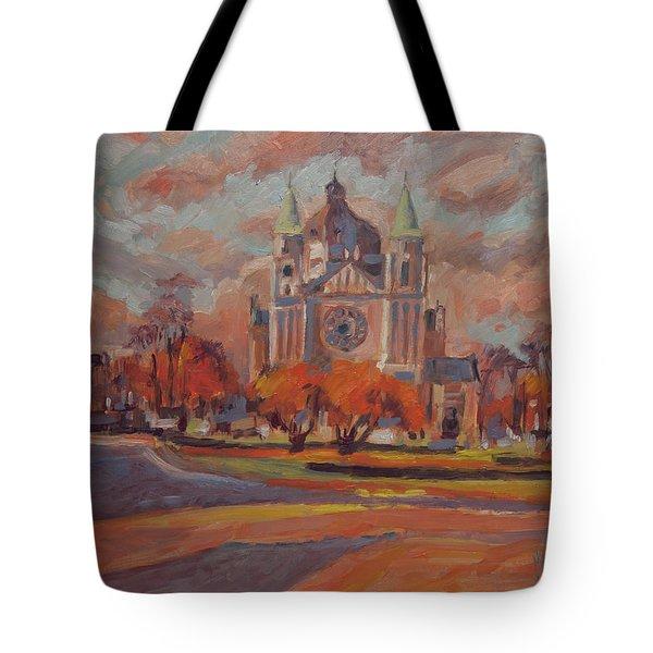 Queen Emma Square In Autumn Colours Tote Bag