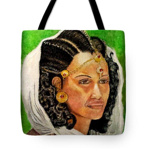 Queen Hephzibah  Tote Bag by G Cuffia