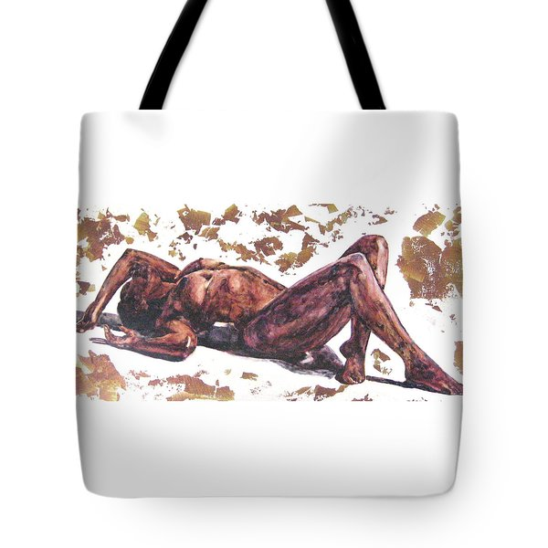 Queen In Gold II Tote Bag
