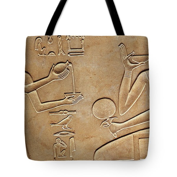 Queen Kawit At Her Toilet Tote Bag by Egyptian school
