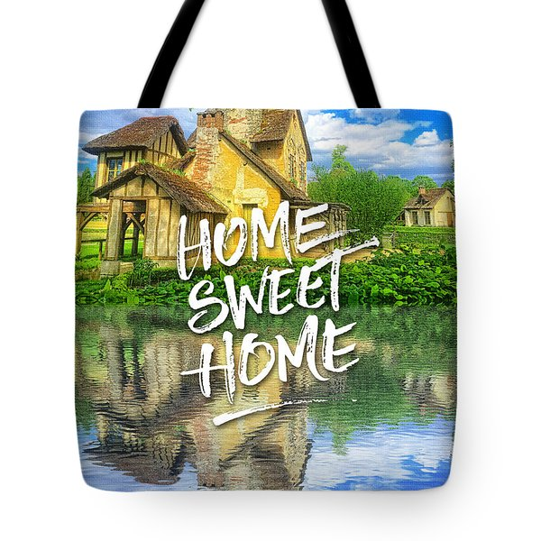 Queen Marie-antoinette Hamlet Cottage Versailles Paris France Tote Bag